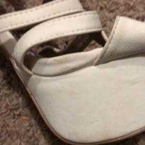 Shi by JOURNEYS Shoes - Cream platform sandals